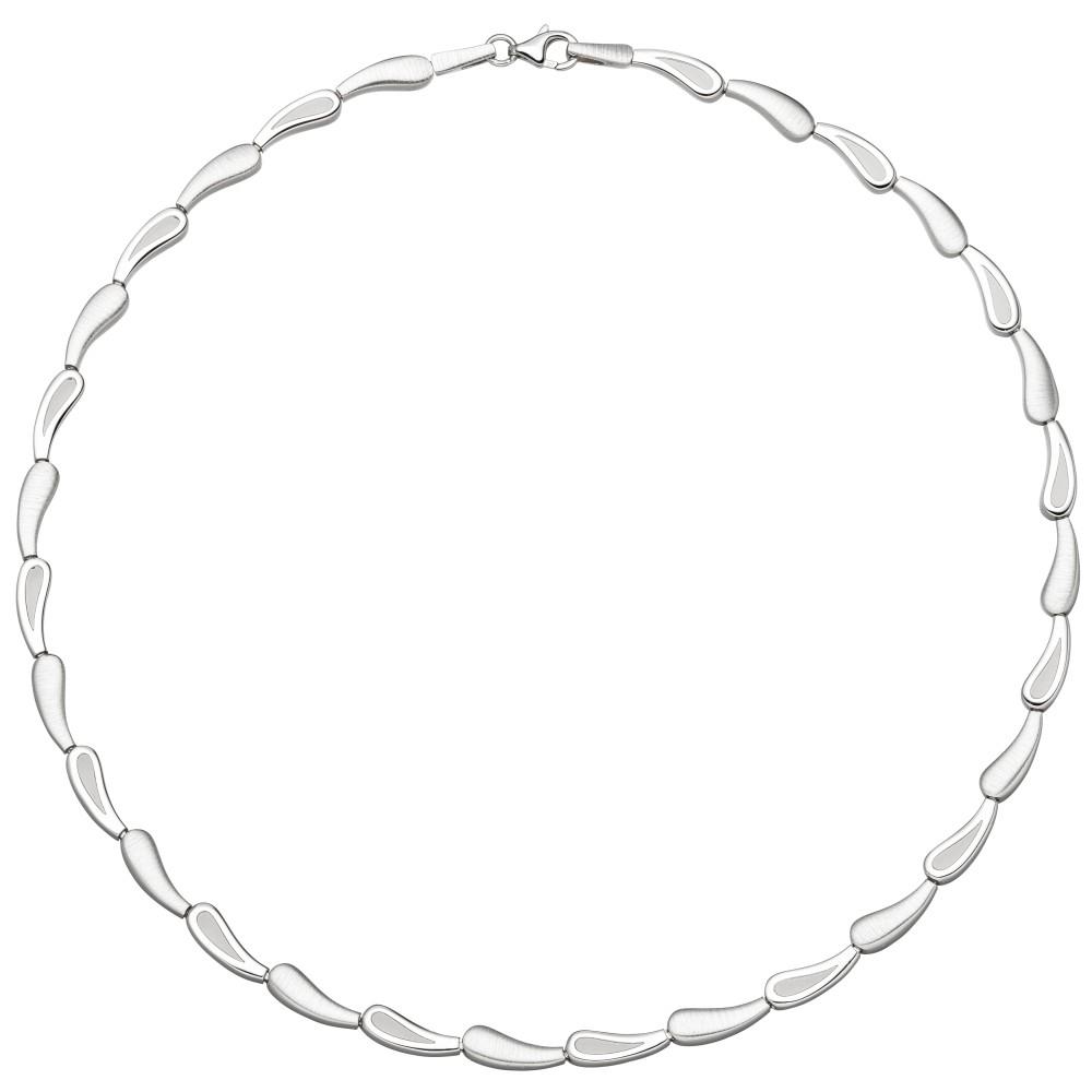 Collier Halskette 925 Sterlingsilber 45cm Kette Silberkette