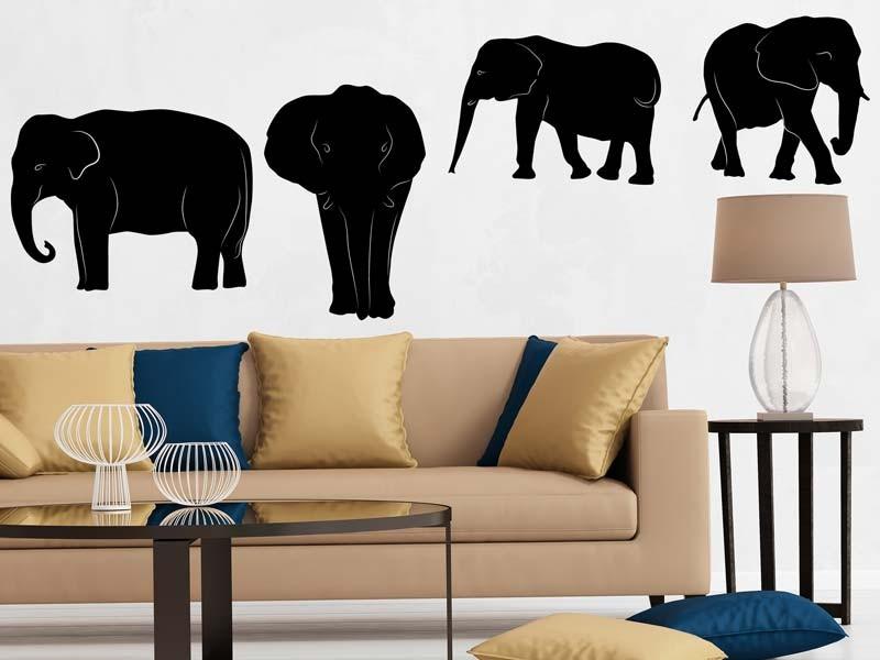 4 Elefanten