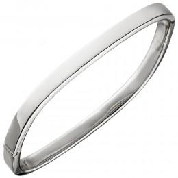 Armreif Armband eckig 925 Sterlingsilber Silberarmband