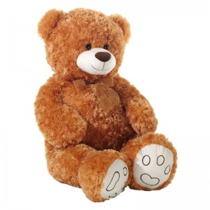 Kuscheltier Bärenland Teddy Bär Curly Plüsch braun 100cm
