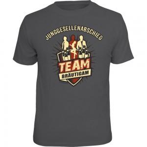 Fun T-Shirt - JGA Team Bräutigam