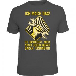 Fun T-Shirt - Ich mach das