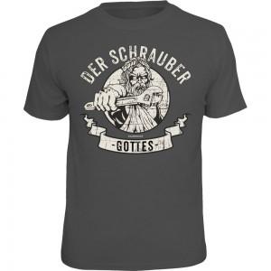 Fun T-Shirt - Schrauber Gottes