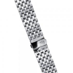 Uhrenarmband 20mm Edelstahl poliert