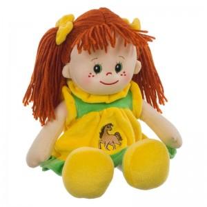 Puppe Poupetta Lotte mit rotem Haar 30cm
