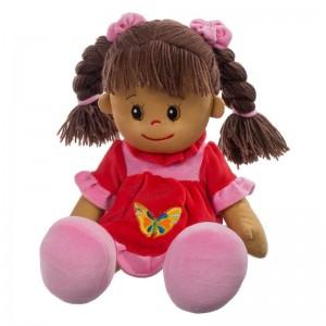 Puppe Poupetta Lucy mit braunem Haar 50cm