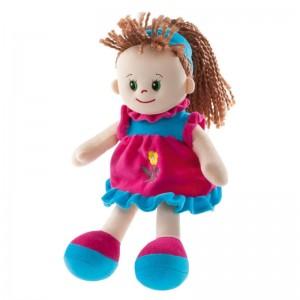 Puppe Poupetta Sarah mit hellbraunem Haar 30cm