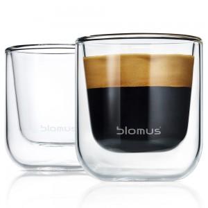 Thermo Gläser Espressogläser NERO 2-teiliges Set