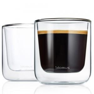 Thermo Gläser Kaffeegläser NERO 2-teiliges Set
