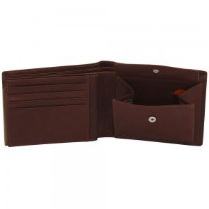 Geldbörse GILMERS Leder cognac braun RFID Schutz