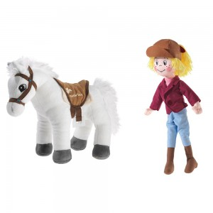 Bibi und Tina Puppe Bibi und Pferd Sabrina als Set