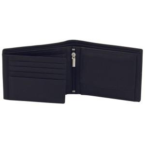 Geldbörse Leder schwarz braun RFID Schutz