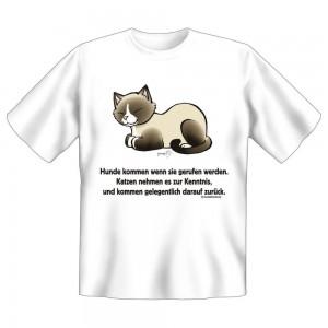Fun T-Shirt Hunde kommen