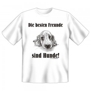 Fun T-Shirt Bester Freund Hund