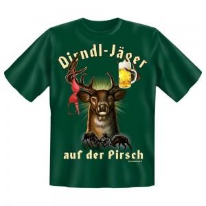 Fun T-Shirt Dirndl Jäger