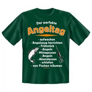 Fun T-Shirt Der perfekte Angeltag
