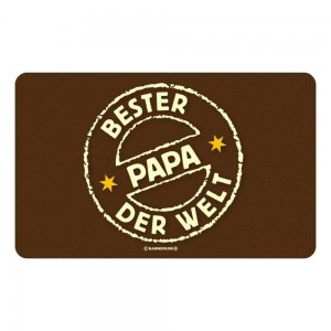 Frühstücksbrettchen Brett Brotzeit - Bester Papa der Welt