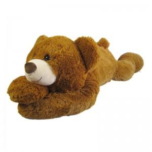 Kuscheltier Bärenland Teddy Bär liegend miitelbraun 120cm