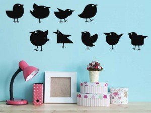 9 Vögel