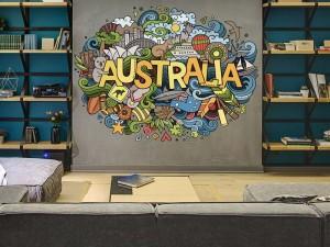Wandtattoo Australia