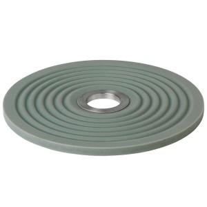 Untersetzer OOLONG Silikon mit Edelstahl Farbe Agave Green