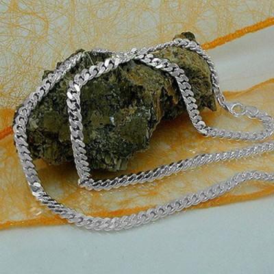 Armband PanzerKette 2x diamantiert 925 Sterlingsilber