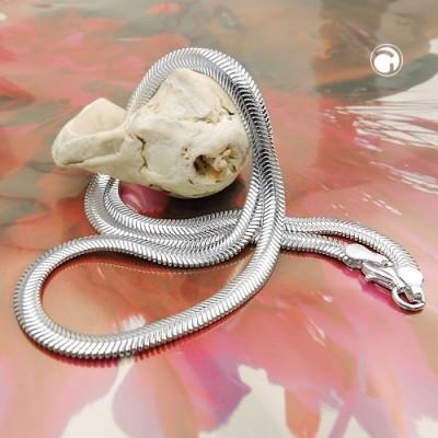 Armband Schlange flach 925 Sterlingsilber