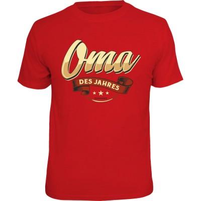 Fun T-Shirt - Oma des Jahres
