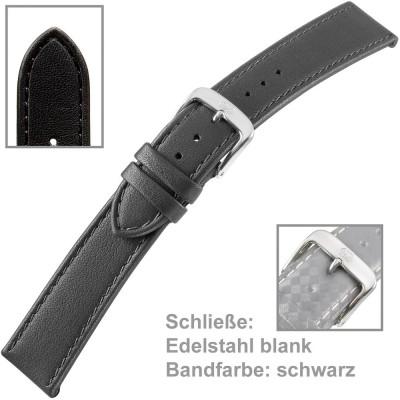 Uhrenarmband Men XL 20mm Kalbleder