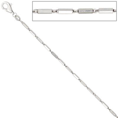 Gliederkette 925 Silber 1,4mm 42cm Halskette Kette Silberkette Karabiner