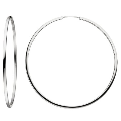 Creolen 925er Sterling Silber Ohrringe