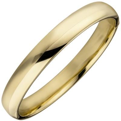 Armreif Armband 925er Sterling Silber gold vergoldet