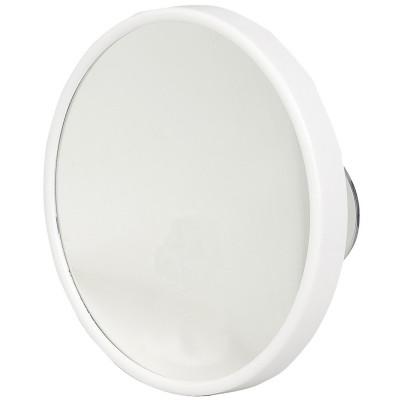 Kosmetikspiegel weiß 10-fach Vergrößerung Saugnäpfe