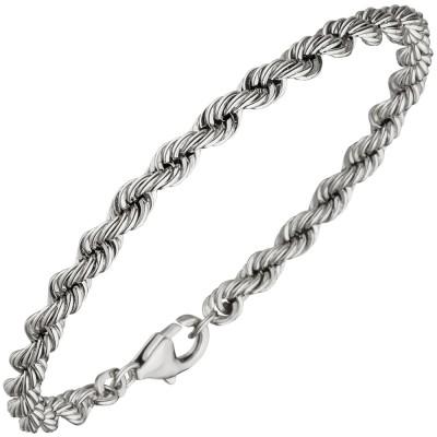 Kordelarmband 925 Sterlingsilber massiv 21cm Armband Silberarmband