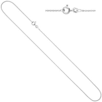 Ankerkette 925 Silber 1,5mm 50cm Kette Halskette Silberkette Federring