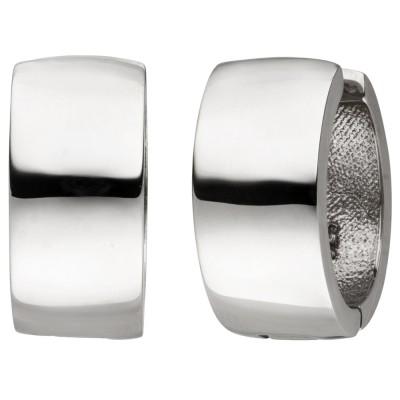 Creolen 925 Sterlingsilber Ohrringe Silbercreolen Silberohrringe
