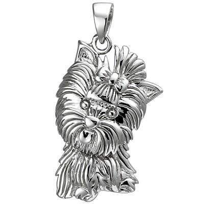 Anhänger Westhighland Terrier 925 Sterlingsilber Silberanhänger