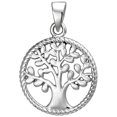 Anhänger Baum 925 Sterlingsilber Silberanhänger