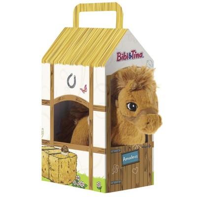 Bibi & Tina Pferd Amadeus stehend im Stall