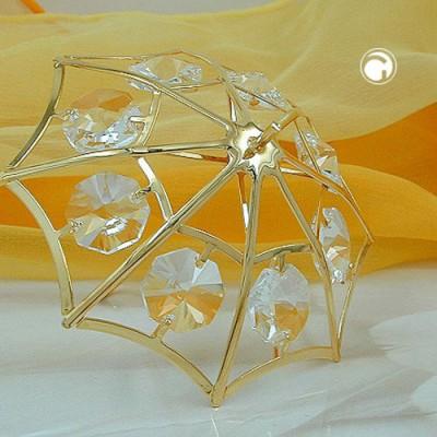 Regenschirm mit Glas-Steinen
