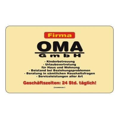 Frühstücksbrettchen Brett - Firma Oma GmbH