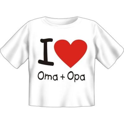 Kids Fun T-Shirt I love Oma und Opa
