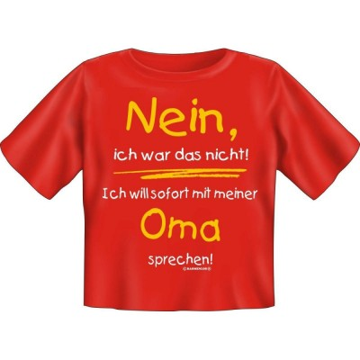 Kids Fun T-Shirt Ich will Oma sprechen