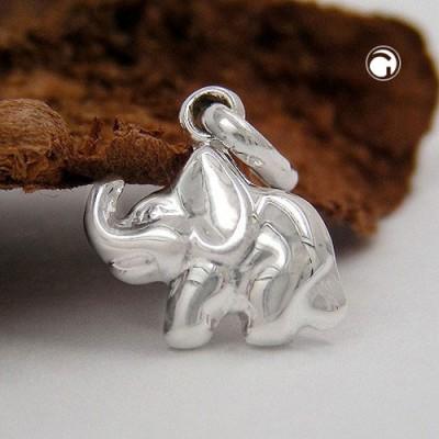 Anhänger kleiner Elefant 925 Sterlingsilber