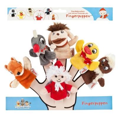 Fingerpuppe Finger Puppen 6er Set 10cm