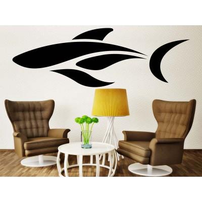 Abstrakter Delfin