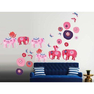 Wandtattoo Elephants