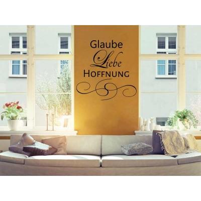 GLAUBE LIEBE HOFFNUNG