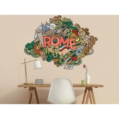 Wandtattoo Rome