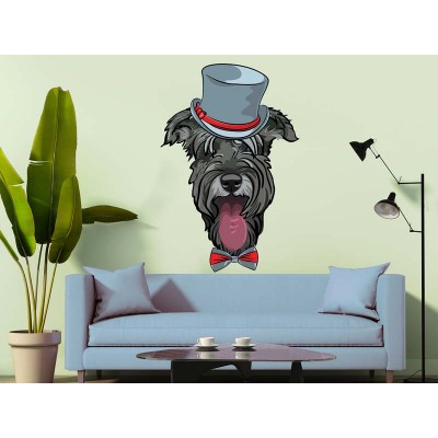 Wandtattoo Sir Dog